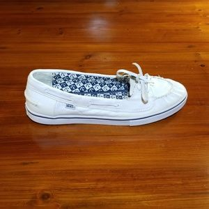 Vans Abby Slip on Sneakers. Womens Size 11.